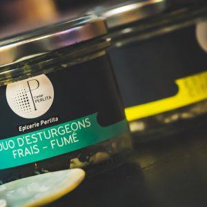 Tartinable Duo d'Esturgeons Frais – Fumé