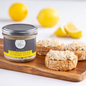 Tartinable d'Esturgeon Aux Citrons Rôtis